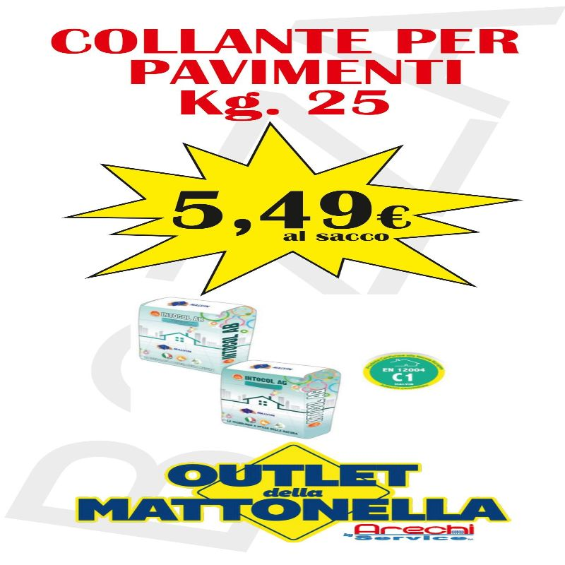 COLLANTE PER PIASTRELLE KG 25