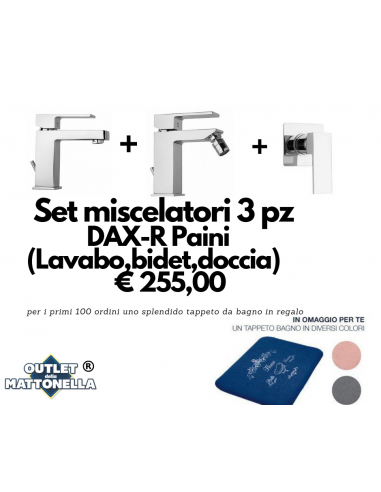 Set miscelatori 3 pezzi DAX-R Paini